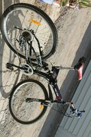 Used Foldable Bicycle with 7 and 3 gears in Dubai, UAE
