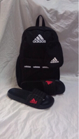 Used Offer deal:Adidas backpack&slippers 45 in Dubai, UAE