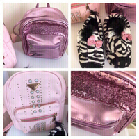 Used 2 Beautiful Backpacks & slipper for girl in Dubai, UAE