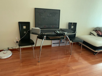 Used Dinning table with four chairs in Dubai, UAE