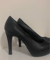 Used Very tall BLACK HIGH HEELS FROM NEW LOOK in Dubai, UAE