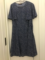 Used Blue Dress With White Dots in Dubai, UAE
