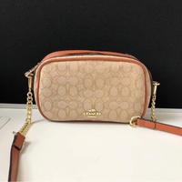 Used Coach light crossbody bag in Dubai, UAE
