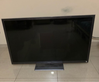Used 55 inch panasonic led tv .. normal use in Dubai, UAE