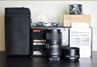 Used Sigma 105mm f2.8 OS Macro Lens in Dubai, UAE