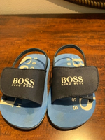 Used Hugo Boss baby boy flip flop in Dubai, UAE