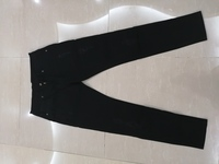Used Black jeans size L in Dubai, UAE