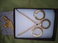 Used 18k gold Necklace set in Dubai, UAE