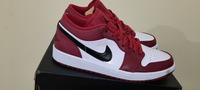 "Used Jordan 1 Low ""Noble Red"" in Dubai, UAE"
