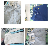 Used Bundle of branded clothes  and bracelet in Dubai, UAE
