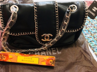 Used Chanel bag+amber romance 35ml in Dubai, UAE