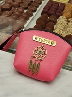 Used personalized named purse, made to order in Dubai, UAE