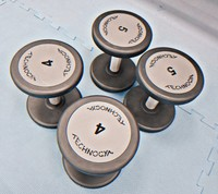 Used Technogym ITALY Dumbbell brand new 4pcs in Dubai, UAE