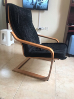Used IKEA Arm chair with replaceable Cushion  in Dubai, UAE