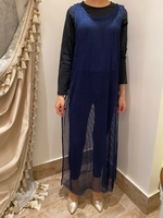 Used Blue Dress (open from front and sides) in Dubai, UAE