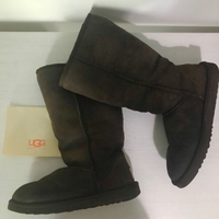 Used UGG Boots Tall Brown EU38 in Dubai, UAE