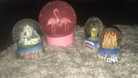 Used Set of 4 lovely snowglobes!! in Dubai, UAE