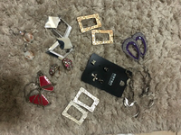 Collection 10 pairs earrings ALL 100