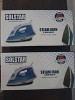 Used Iron steam iron 2 piece new with box in Dubai, UAE