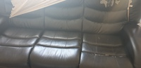 Used Black 3 seater recliner in Dubai, UAE
