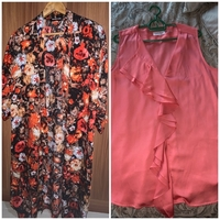Used Bundle of Ck blouse and cardi size M/L in Dubai, UAE