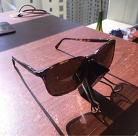 Used Original black Persol sunglasses in Dubai, UAE
