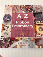 Used A To Z Ribbon Embroidery Guide Book  in Dubai, UAE