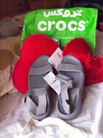 Used New Crocs Lite Ride back strap closure💥 in Dubai, UAE
