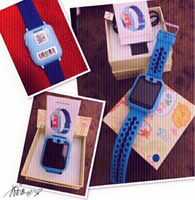 Used Kids Smart Watch Blue ♏️ in Dubai, UAE