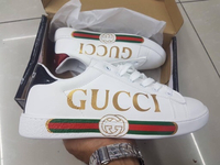 Used Gucci shoes brand new in Dubai, UAE
