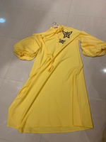 Used Casual yellow dress size L/XL new in Dubai, UAE