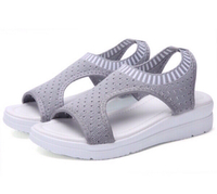 Used  Ladies Elastic Band Sports Sandals  in Dubai, UAE
