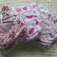 Used New Reusable Cloth Diapers +free Girls Shrug  in Dubai, UAE