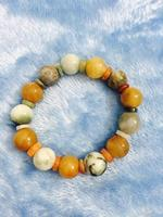 Used Natural Stone Burmese Jade Bracelet in Dubai, UAE