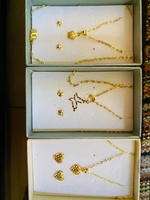 Used Gold set 18k real gold pawnable in Dubai, UAE