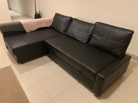 Used IKEA Leather Sofa bed in Dubai, UAE