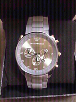 Used Georgio Armani wristwatch ⌚️ for r men in Dubai, UAE
