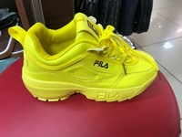 Used FILA LADIES SHOES YELLOW 36 to 40 in Dubai, UAE