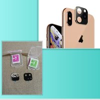 Used 2 pcs iphone x/ xs lens cover in Dubai, UAE