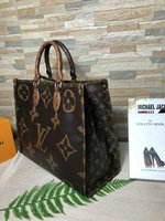 LV New Monogram Giant Neverfull MM
