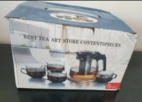 Used New tea set still in box never used in Dubai, UAE