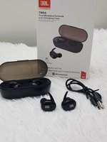 Used Earbuds JBL pure bass with charging case in Dubai, UAE