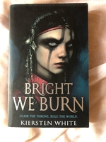 Used Bright We Burn by Kiersten White  in Dubai, UAE