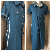 Fashion DENIM DRESS M new