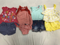 Baby clothes age 6 to 9(80dhs