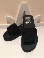Used Black sandals size 37 in Dubai, UAE