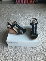 Used Geox wedge sandals size 35 new  in Dubai, UAE