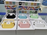 Used Airpods pro multicolors case  in Dubai, UAE