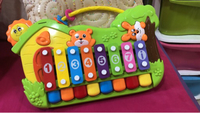 Musical number toy