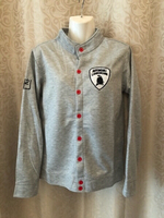 Used Sweater jacket grey size XL in Dubai, UAE